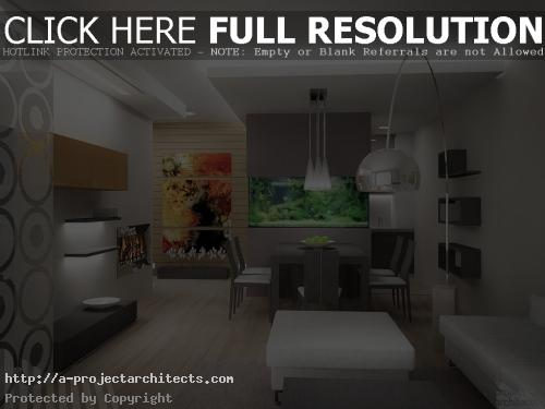 Интериор и обзавеждане на жилище - аквариум