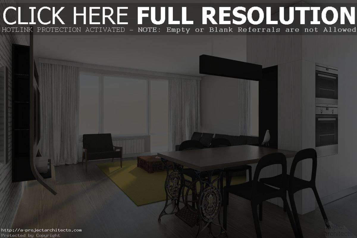 Поглед към дневната - мека мебел и удобно кресло