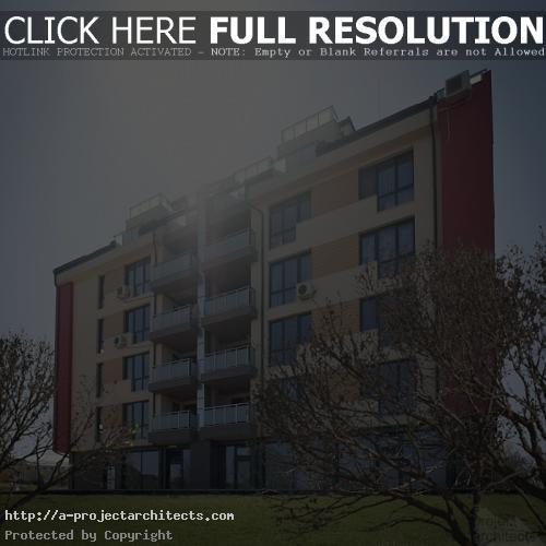 Проект за жилищен блок в Младост - двор и градина
